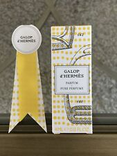 HERMES GALOP D' HERMES PARFUM PURE PERFUME WOMEN'S TRAVEL SPRAY 4ML DELUXE SIZE!