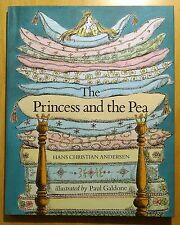 The Princess and the Pea by Hans Christian Andersen 1978 HC DJ Paul Galdone RARE