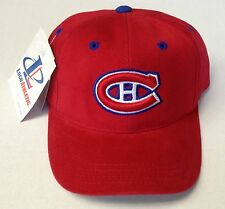 NWT NHL Montreal Canadiens Logo 7 Toddlers Vintage Velcroback Cap Hat NEW!