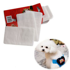 10Pcs/1 Pack Pet Disposable Diaper Dog Doggy Cat Diapers Nappy Pads Paper Mat