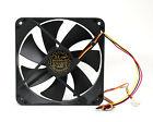 1pc DC Fan D12SH-12 12x12x2.5cm 12V 0.30A 3-wires UL TUV CE 2200rpm 88cfm 40dBA