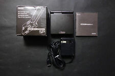 Nintendo Game Boy Advance GBA SP BLACK Japan System Good.Condition