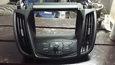 2013-2014 FORD ESCAPE RADIO CONTROL PANEL W/O SONY AUDIO SYSTEM WITH 8IN DISPLAY