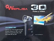 Werlisa 3D Video Camera DV990 HD 720p HDMI 5.0mpixel