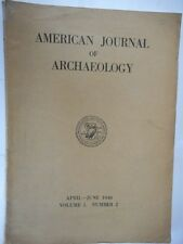 AMERICAN JOURNAL OF ARCHAEOLOGY - 1946
