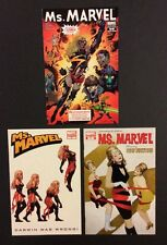 MS. MARVEL #20 #31 #41 Comic Books ZOMBIE VARIANT Darwin Monkey DARK AVENGERS