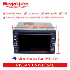 """6.2"""" Octa Core Android 6.0 Car DVD GPS Player Navi For Nissan universal"""