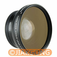 HIGH QUALITY 52mm 0.45x WIDE Angle + Macro Conversion LENS 52 0.45