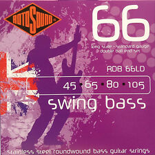 Rotosound RDB66LD Swing Bass Guitar Strings 45-105  long scale - double ball end