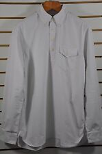 Men's Polo Ralph Lauren, Bleecker 3BD Oxford Pull-Over Shirt, Sz. M