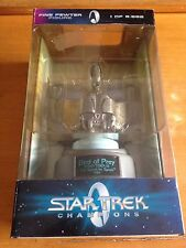 Star Trek Champions Limited Edition Klingon Bird of Prey Pewter Figure