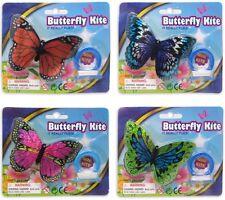 MINI Farfalla Aquilone 8 disegni VOLA 10cm con linea ~ party bag o regalo