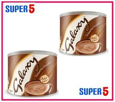 2 X 1KG GALAXY HOT CHOCOLATE INSTANT TUB-OFFICE,HOME,BUSINESS USE