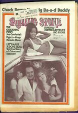 Rolling Stone 122 CHUCK BERRY Curtis Mayfield PIMP Joe Conforte Boz Scaggs Drugs