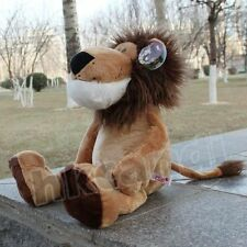 Stuffed Animals soft toys lion Christmas brown hair lion plush doll 25 CM