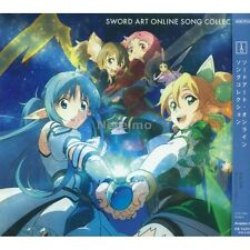 New MICK 7004 Sword Art Online Song Collection Song Soundtrack Music CD