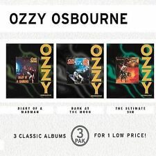 Ozzy Osbourne RARE US 3 CD Box Diary, Bark, Ultimate Sin SEALED / NEW E3K 65612