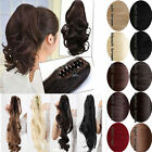 Wrap Round/claw Clip In Pony Tail Hair Extension New 16 Style long Hairpiece z3