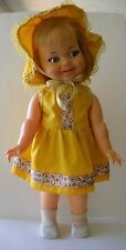 Vintage 1966 Ideal Giggles Flirty Eyes Doll 18""