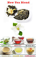 Jasmine green Gourmet loose Leaf Fresh Tea 1lb + Free Samples