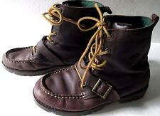 Ralph Lauren Polo Lace up leather Chukka/ Desert boot Womens Size 5