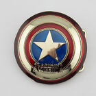 new captain america shield superhero mens metal belt buckle Costume Leather Gift