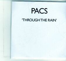 (DU843) PACS, Through The Rain - DJ CD
