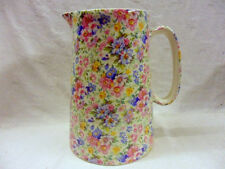 Mille Fleure design 4 pint pitcher jug by Heron Cross Pottery