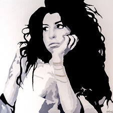 AMY WINEHOUSE - SEARCHING - FINE ART PRINT POSTER 13x19 - MUSIC PAQ012