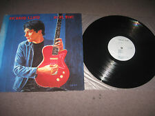Richard Lloyd - Real Time LP 1987 Near Mint US Celluloid Records