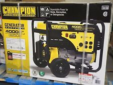 Champion Power 4000W/3250W Generator 224cc OHV Engine Portable Gasoline NIB