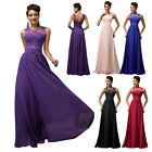 PLUS SIZE 22-24 Vintage WEDDING Long Ball Gown Party Evening Prom Maxi Dress GK