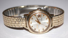 SEIKO AUTOMATIC 21 JEWELS HI-BEAT LADIES WRIST WATCH GOLD TONE 2205-0249 WORKS!
