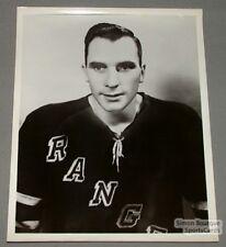 Original Early 60's Dean Prentice  N.Y. Rangers Photo