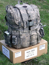Loaded US ARMY ACU Back Pack Frame Belt Straps Hydration Carrier Radio Pouch +++