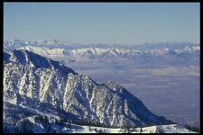 061069 Wasatch Mountain Range Utah A4 Photo Print