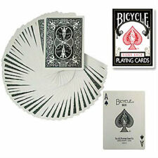 Bicycle Black Deck - Poker Size - Playing Cards - Magic Tricks - New