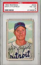 1952 Bowman Dick Littlefield #209 PSA 4 P217