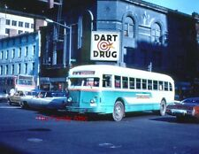 NEW 8X11 PHOTO METROBUS WMATA WASHINGTON DC CITY STREET BUS METRO 1973 DART DRUG