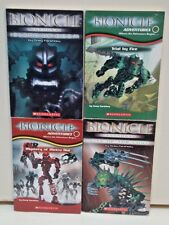 Bionicle Adventures and Legends Books by Greg Farshtey, Lot of 4 Books