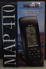 MAGELLAN MAP 410 HANDHELD GPS NAVIGATION RECEIVER BUNDLE WITH CASE