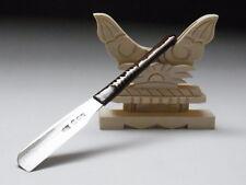 Medium Blade! Shave Ready! TAMAHAGANE IWASAKI J*apanese Straight Razor #A-121