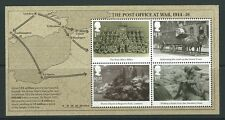 GREAT BRITAIN 2016 THE POST OFFICE AT WAR 1916 MINIATURE SHEET UNMOUNTED MINT