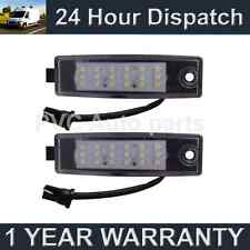 2X FOR TOYOTA HIACE HI-ACE 1995 On 18 WHITE LED NUMBER PLATE LIGHT LAMPS