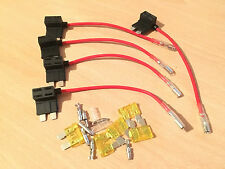 5x Standard Add A Circuit Fuse Box Holders Piggy Back Adaptor Car ATO ATC ACU UK