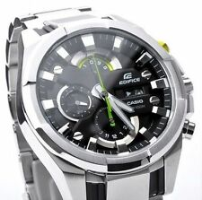 IMPORTED CASIO EDIFICE EFR 540-1AV BLACK SPORT CHRONOGRAPH LUXURY MENS WATCH