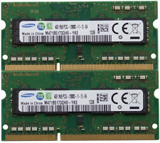 SAMSUNG memoria RAM 8GB KIT DDR3 PC3-12800,1600 MHz per 2011/2012 Apple MAC MINI
