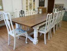 8,10,12,14,16,20+ seater, 5 leg, Triple Dining Table. Infinity Range, any colour