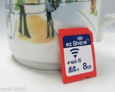 ez-Share WIFI SHARE 8GB CLASS 10 SDHC FLASH MEMORY SD CARD 8 GB EYE FI