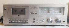 Vintage Technics Stereo Cassette Deck Model RS-M6